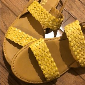 Korks by Kork-Ease Yellow Sandals.  8